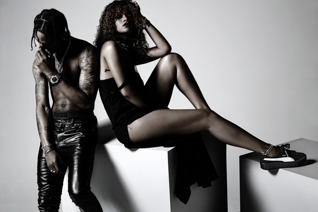 Preview: Rihanna x PUMA Fall/Winter 2015 Collection with Travi$ Scott