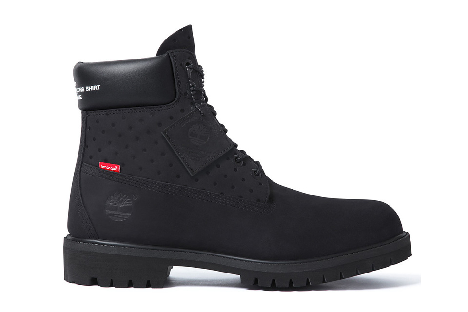 Supreme & COMME des GARCONS SHIRT Innovate Timberland's 6-Inch Boot