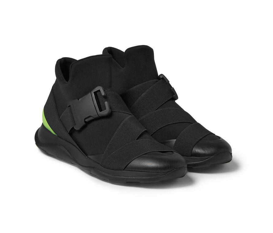 Christopher Kane Spring 2016 Scuba High-Top Sneaker
