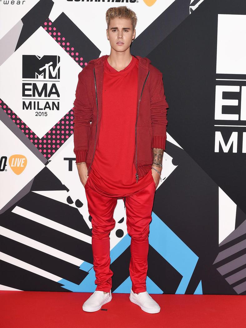 Red Carpet: MTV EMA 2015 Men's style