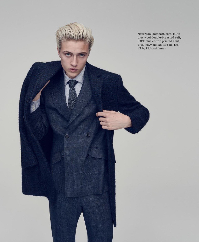 Lucky Blue Smith For Esquire Big Black Book