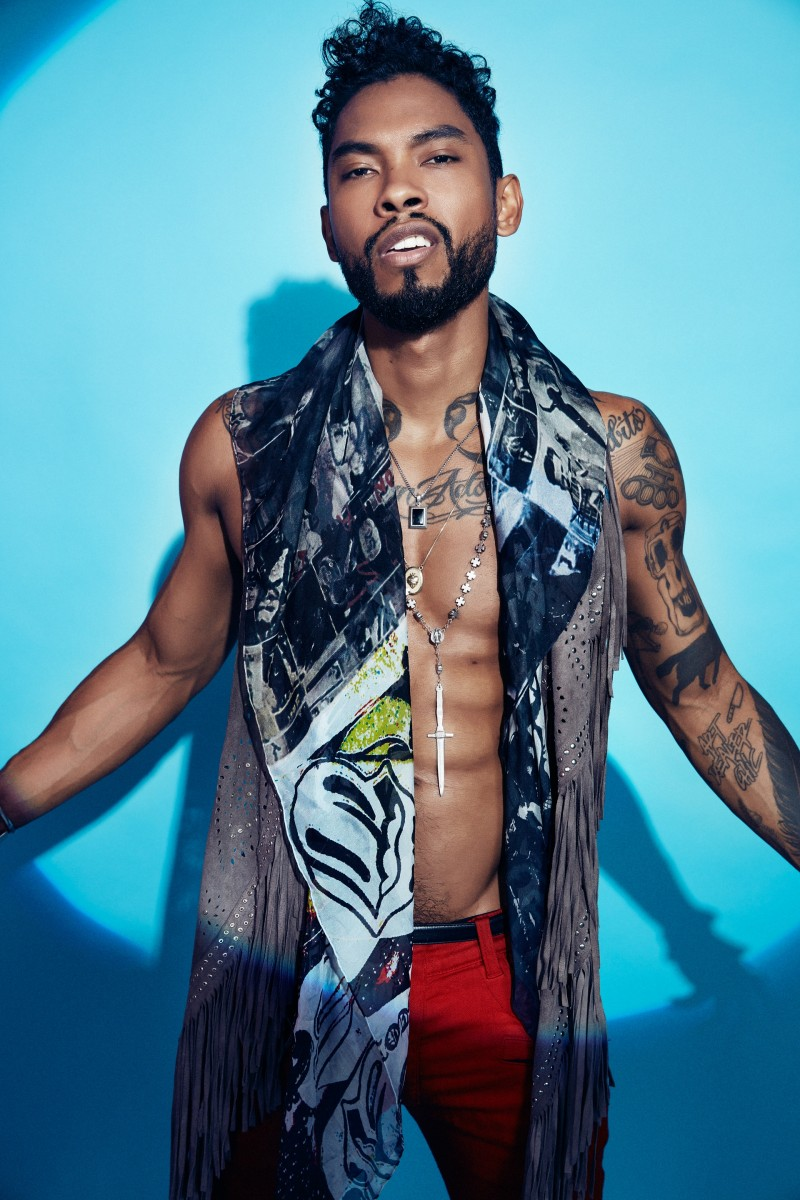 Miguel Stars in Editorial for The Guardian