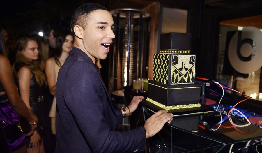 Olivier Rousteing Celebrates 30th with a Host of Friends