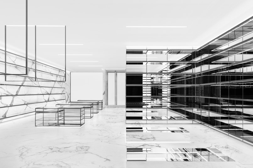 Saint Laurent Re-Opens Its 57th Street Flagship Store