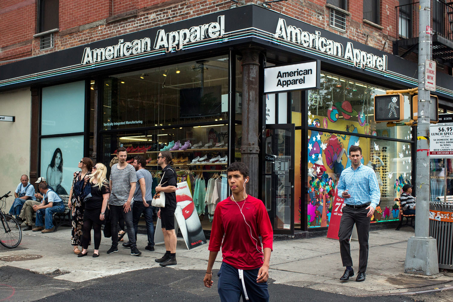 American Apparel Prepare for Post-Bankruptcy