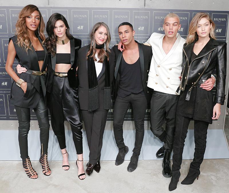 See The H&M x Balmain Menswear Runway Show