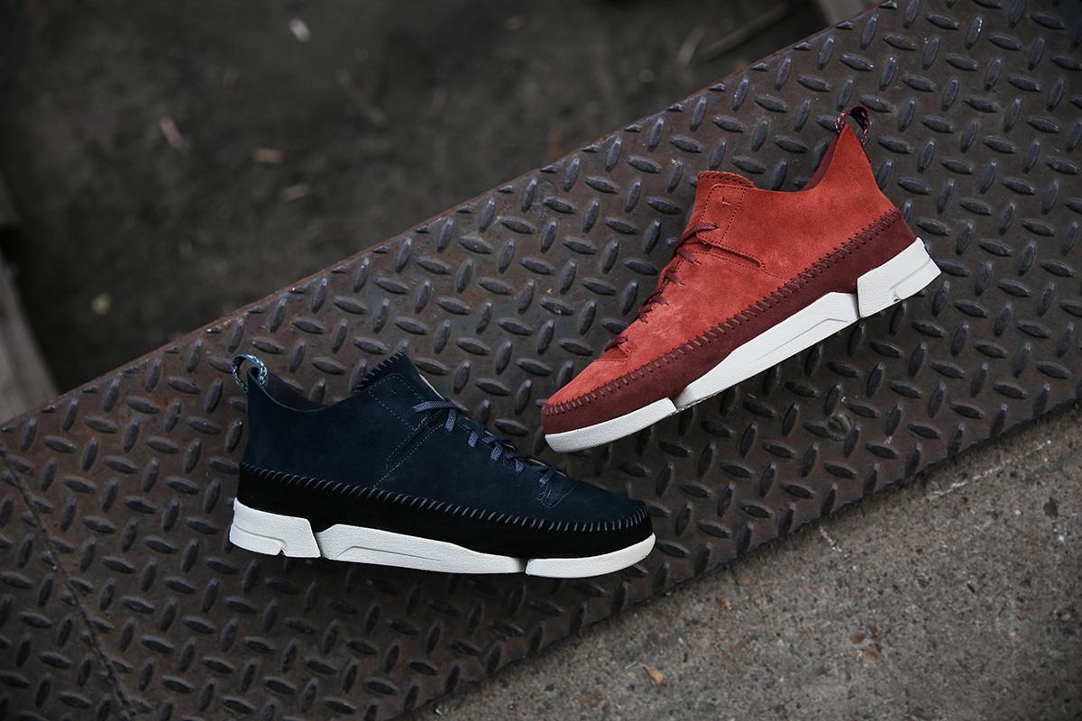 Clarks Sportswear Launches the Trigenic Flex