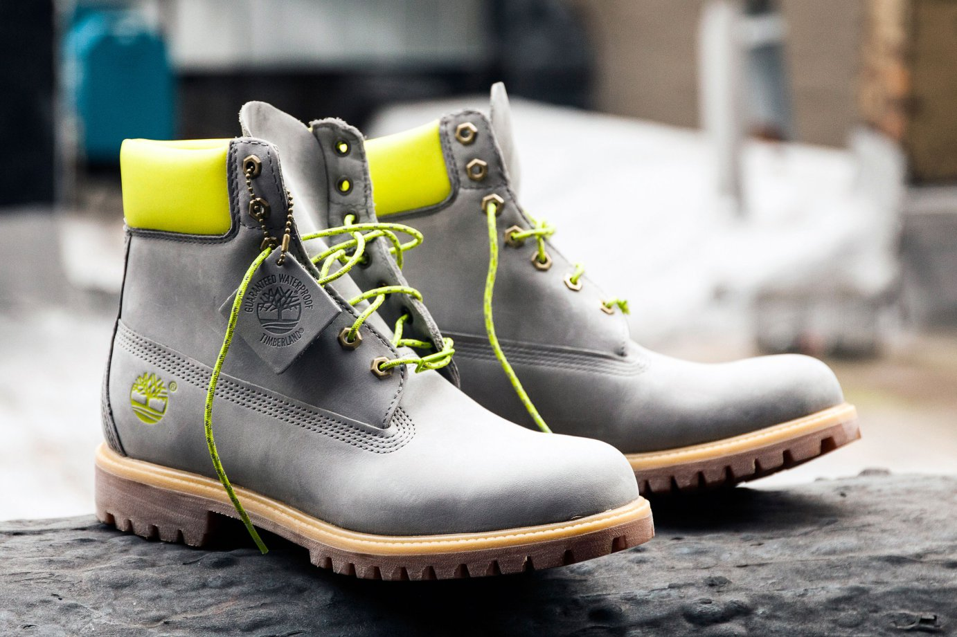 "DTLR x Timberland unveil new 6″ Boot ""Safety Grey"""