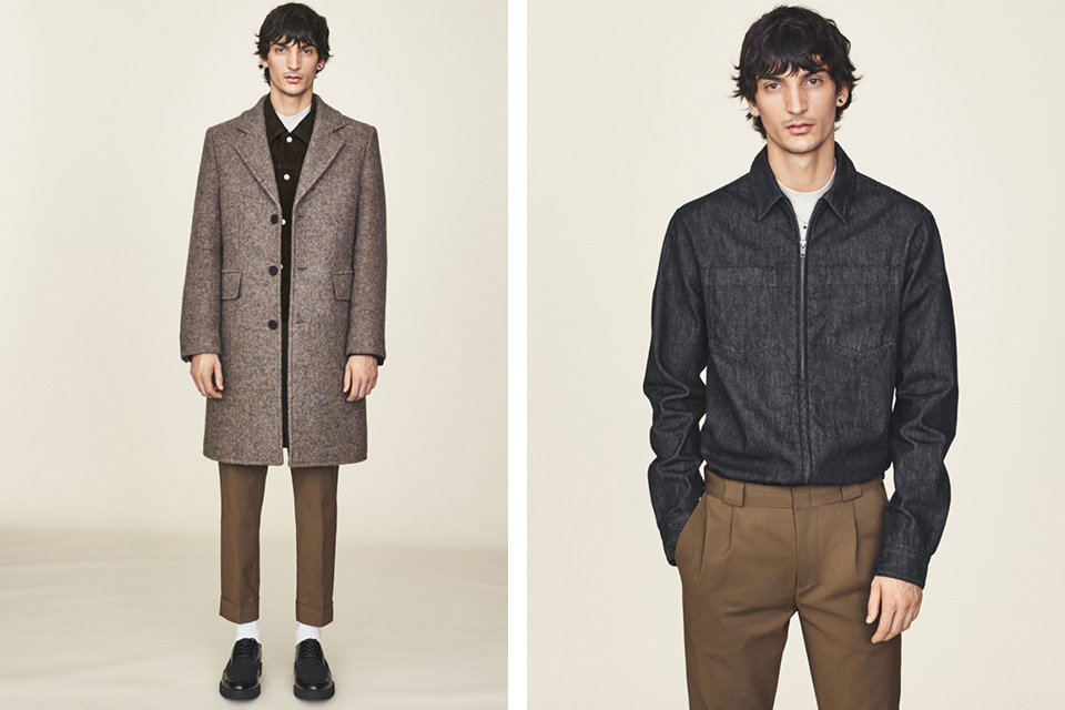 H&M Winter 2015 Menswear Lookbook