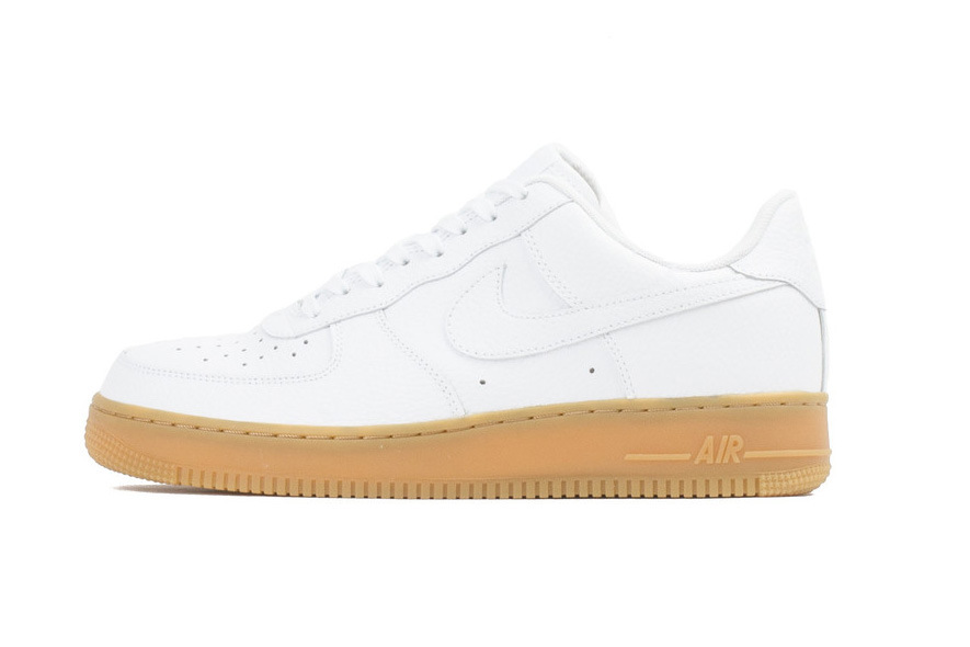 "Nike Air Force 1 Low ""White/Gum"""