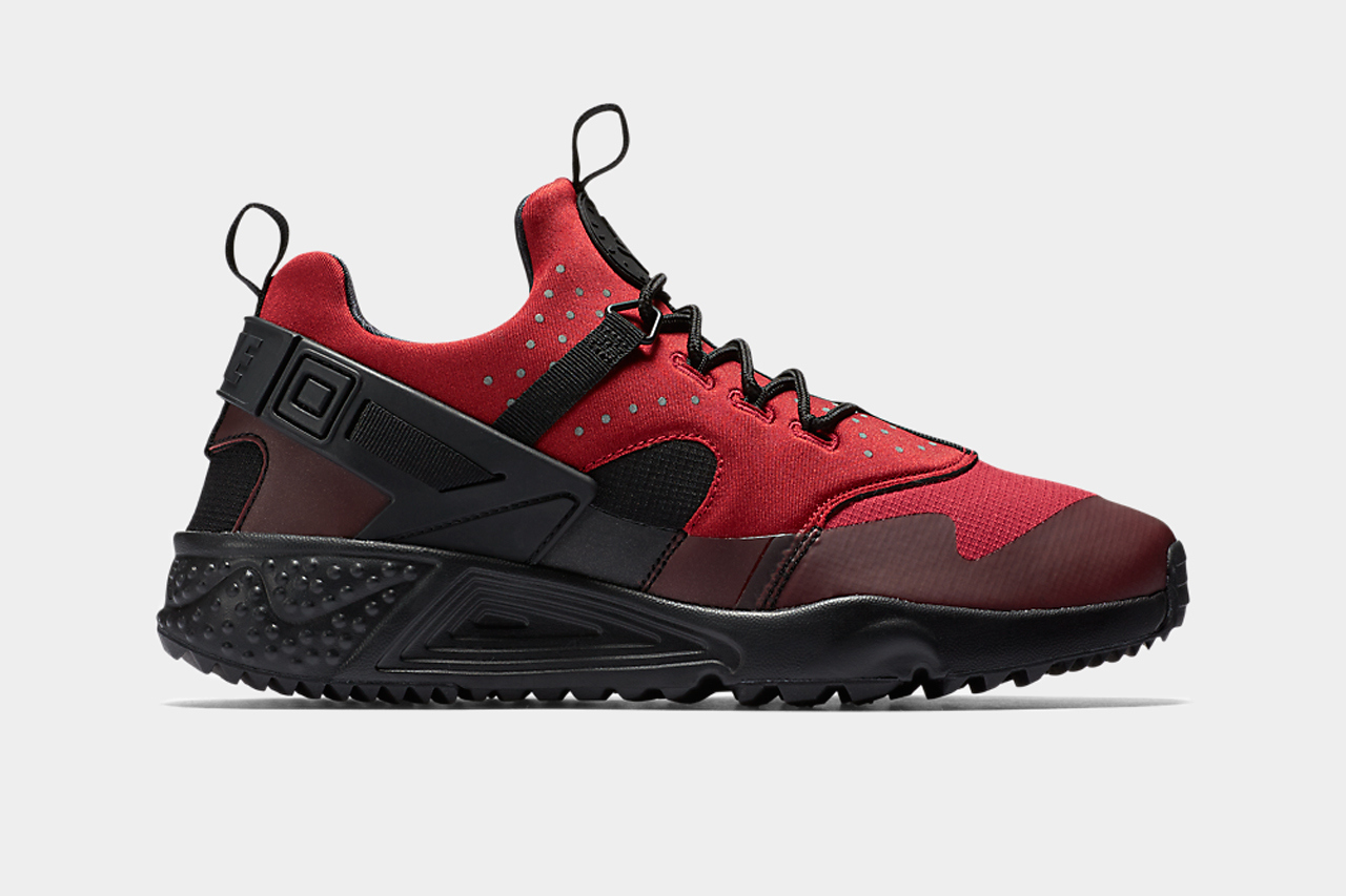 Nike Air Huarache Utility Dark Red/Black
