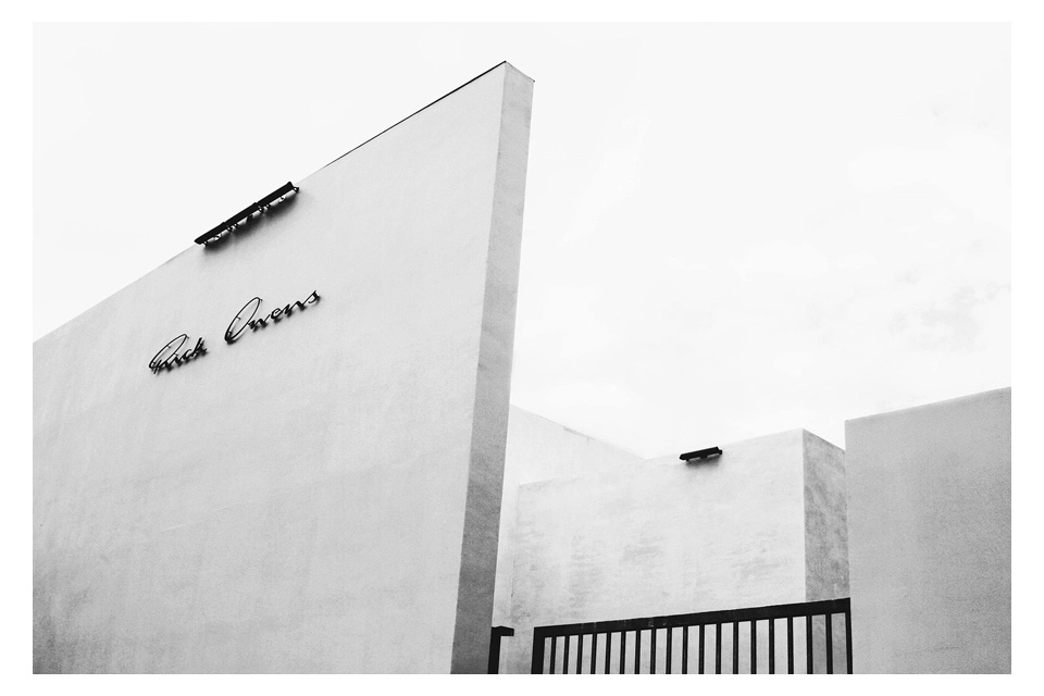 Rick Owens Launches First-Ever Store in Los Angeles