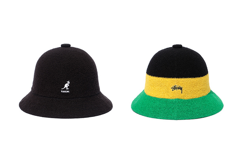 Stussy x Kangol Bermuda-Themed Bucket Hat