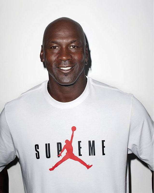 Michael Jordan x Supreme by Terry Richardson's Studio
