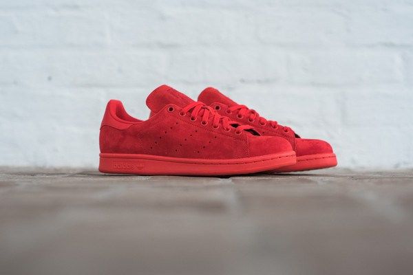 "Adidas Originals ""Powdered Red"" Stan Smith"