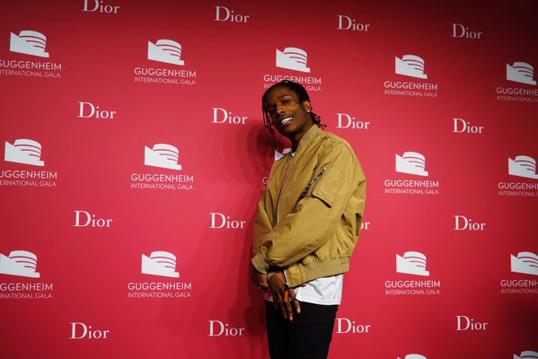 A$AP Rocky Is First To Step Out in Dior SS16