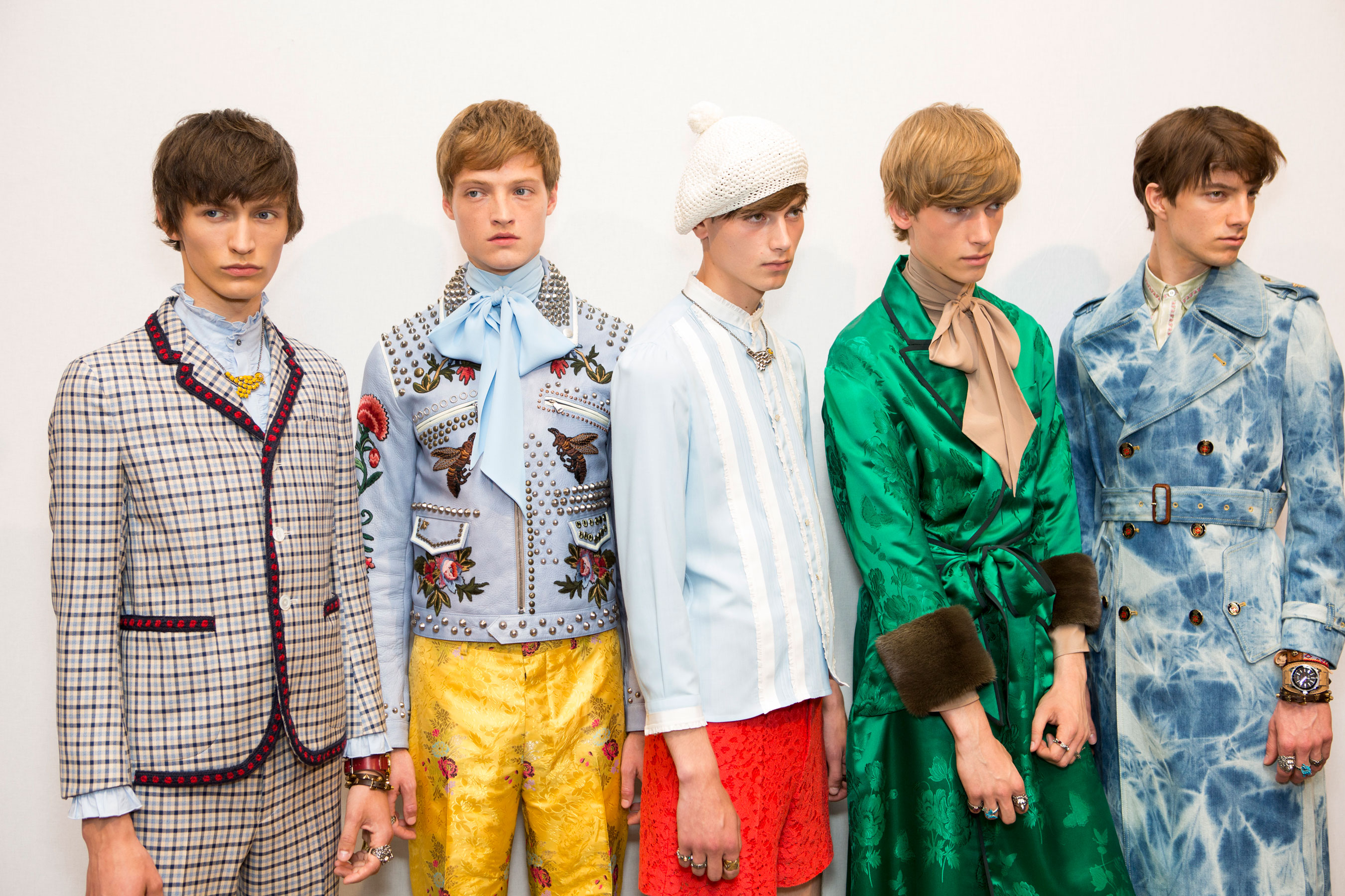 The Return Of Gucci: Androgyny and Floral Prints
