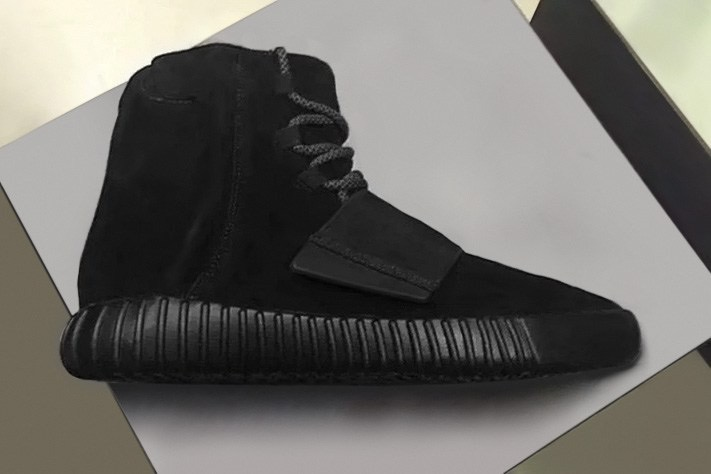 Look no further; Adidas X Yeezy Boost 750 in All Black