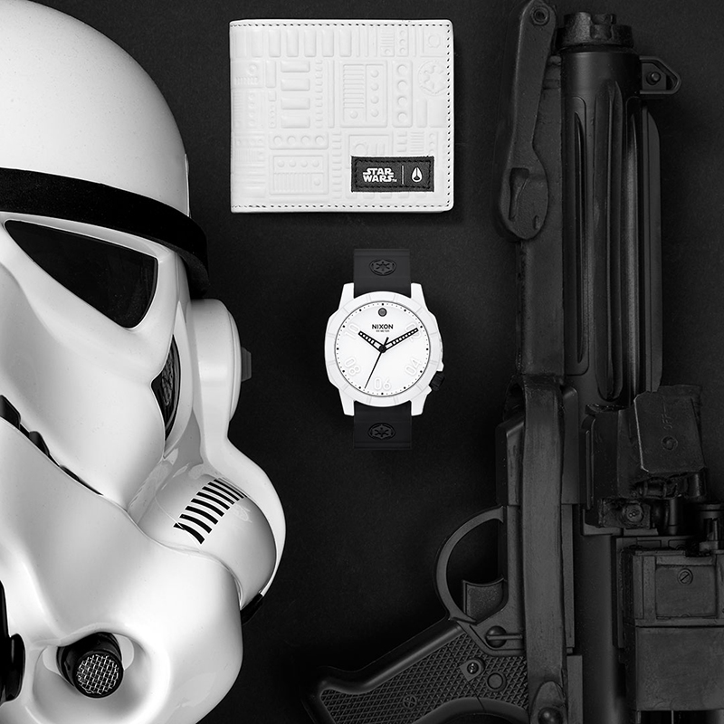 "Nixon x Star Wars 2015 ""Darkside"" Collection"