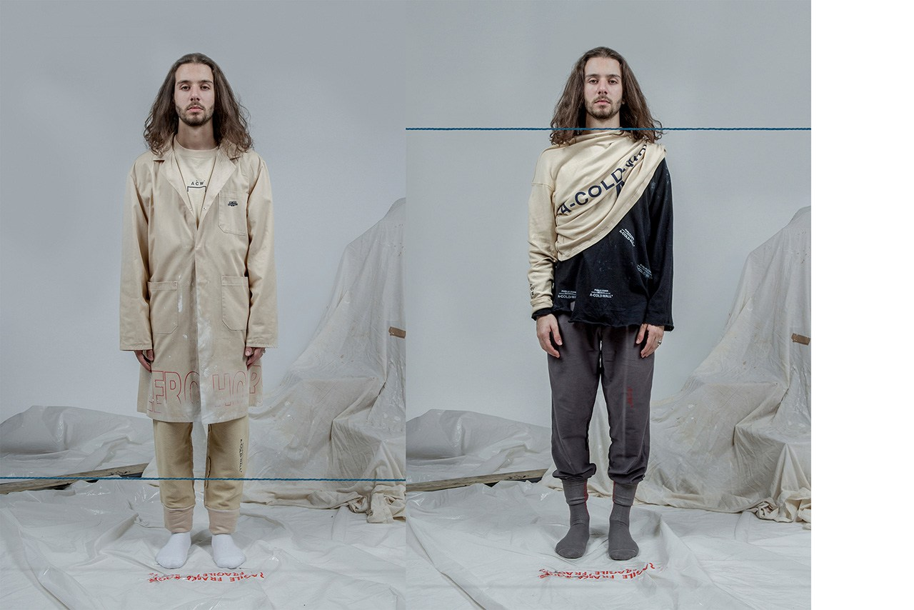 """A-COLD-WALL* Fall/Winter 2015 """"ZERO HOURS"""" Drop 2"""