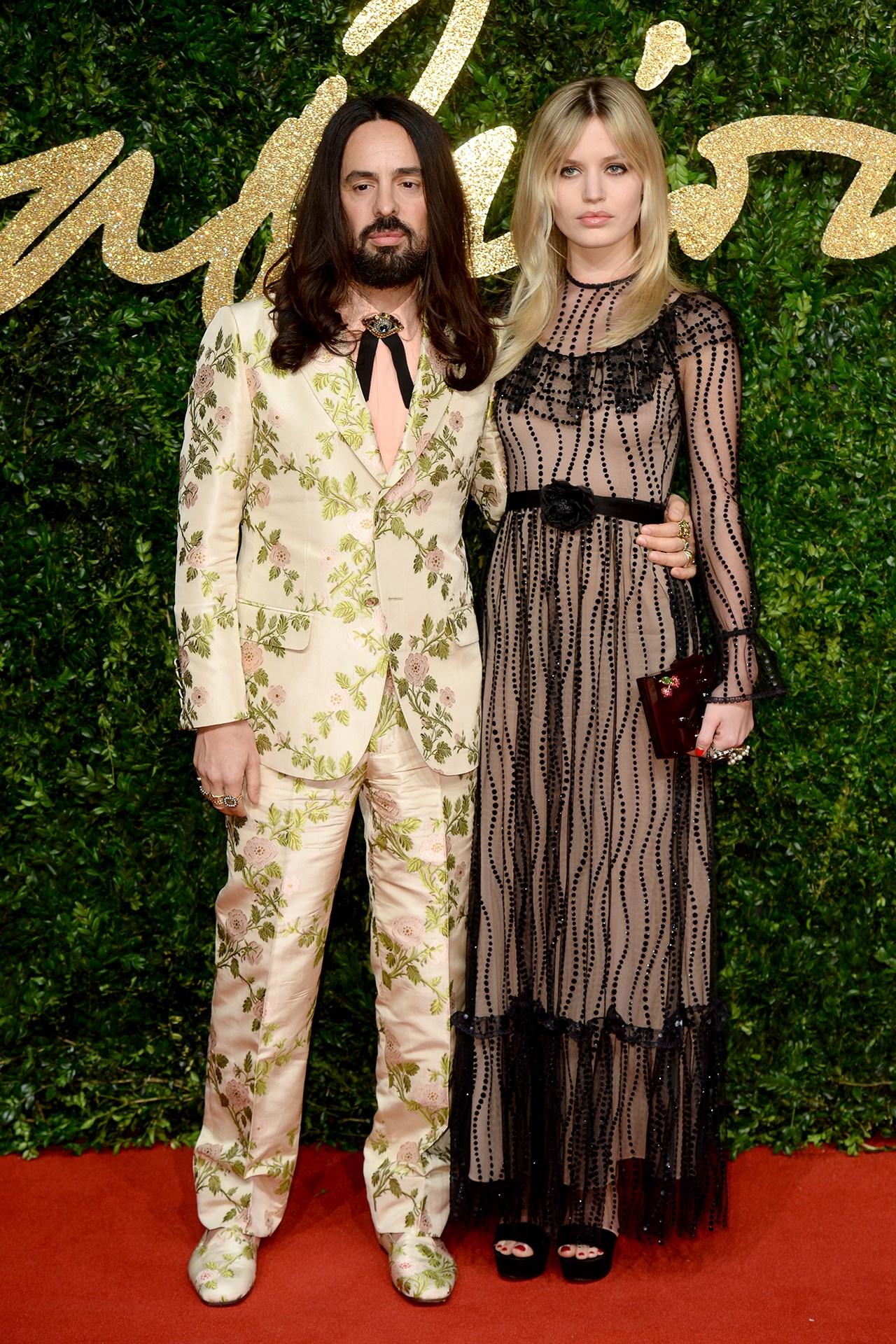 British Fashion Awards Men's 2015 Red Carpet
