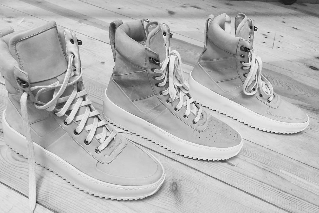 Fear of God's First Footwear Collection