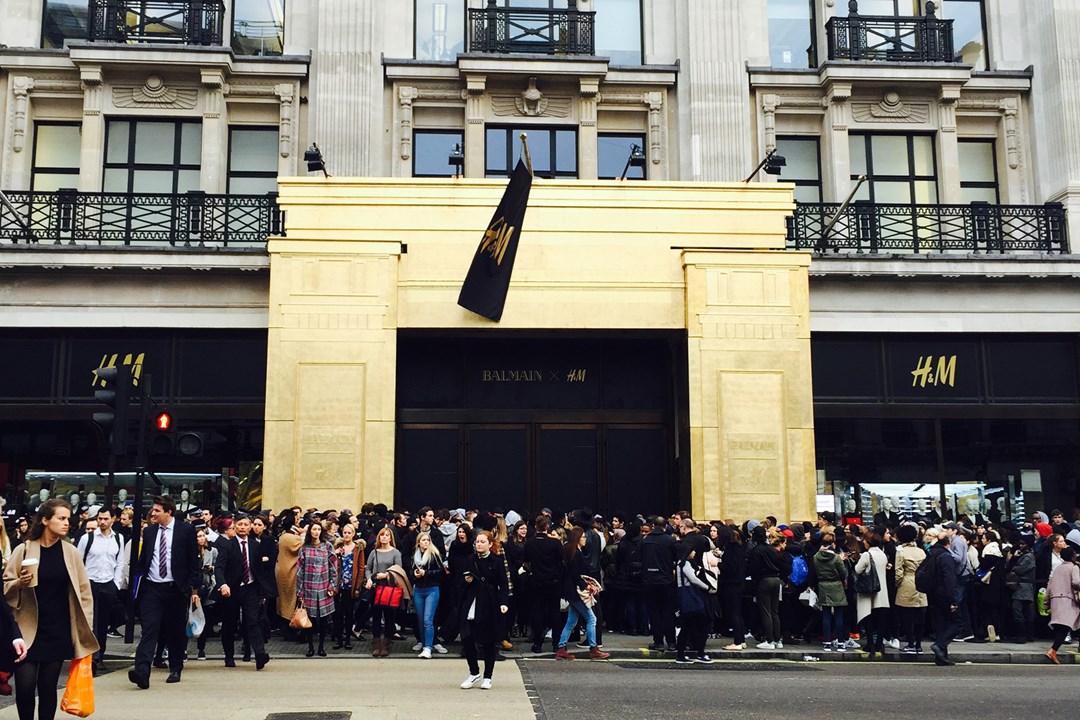 How the H&M Balmainia Caused International Mayhem