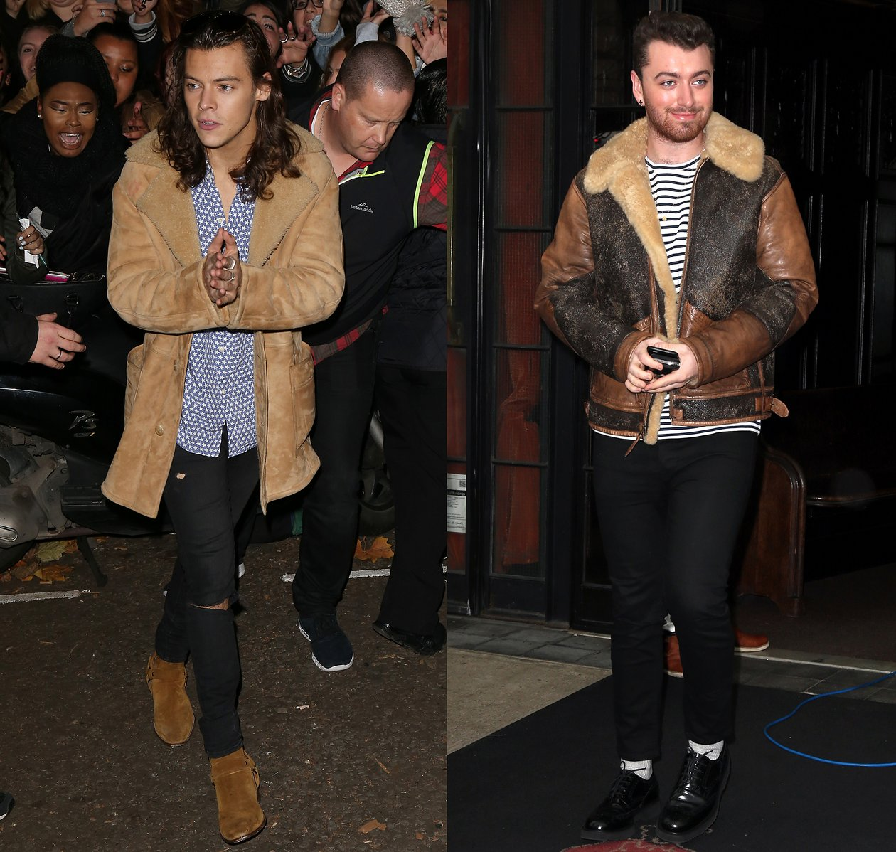 Harry Styles and Sam Smith Rock This Season's Must-Have Coat for Guys