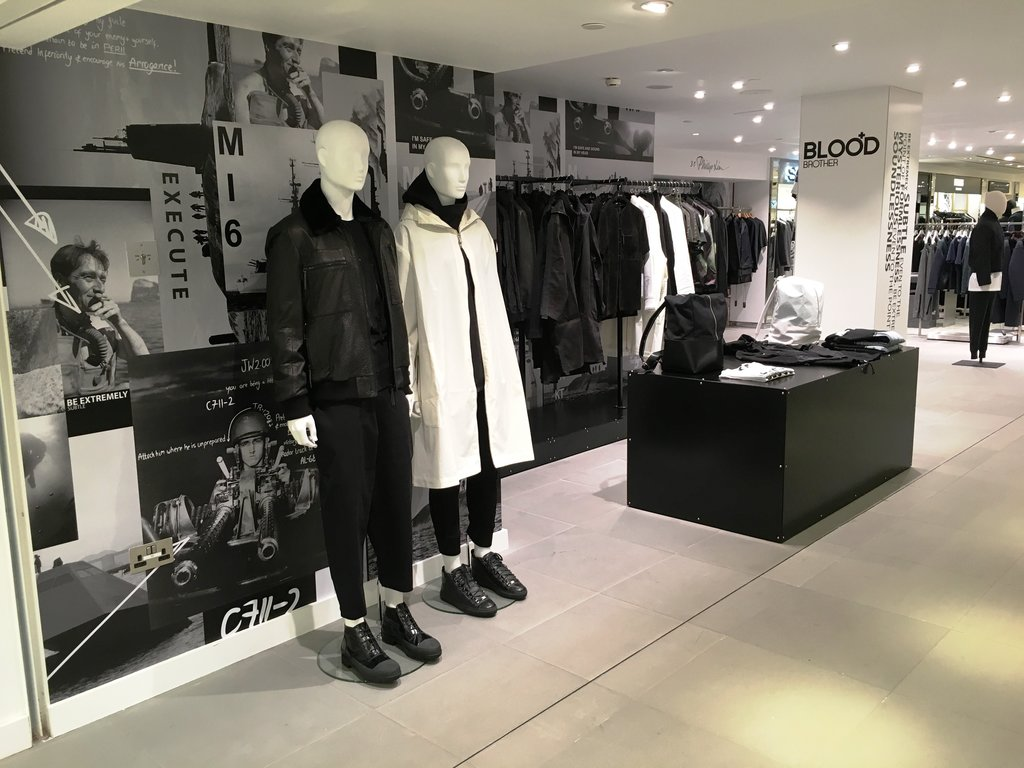 Blood Brother x Harrods Autumn/Winter 2015 Pop Up