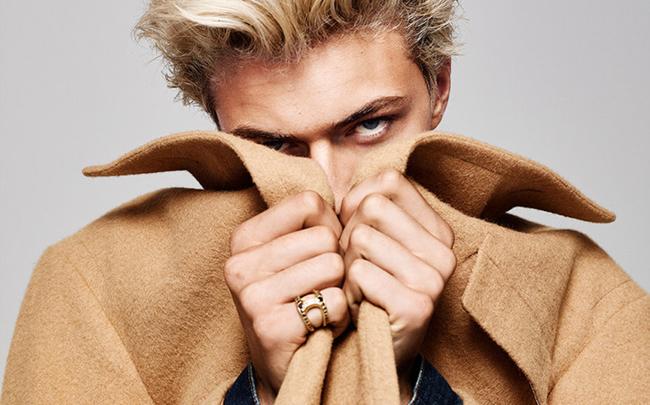 Lucky Blue Smith for Vanity Fair