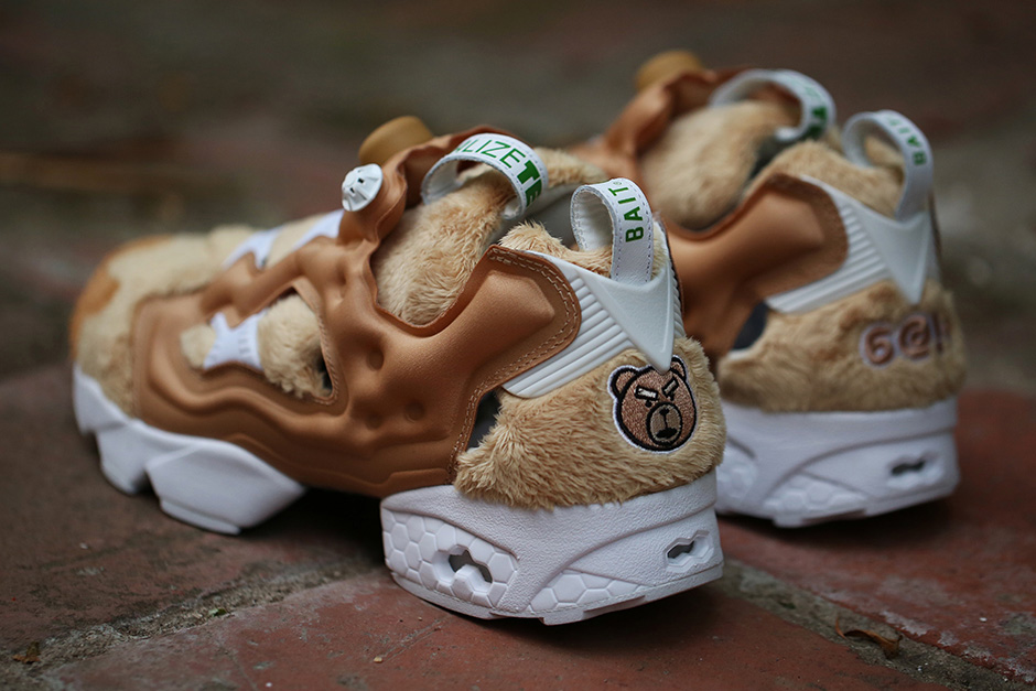 BAIT x Reebok 'Nasty Ted' Sneaker Collaboration