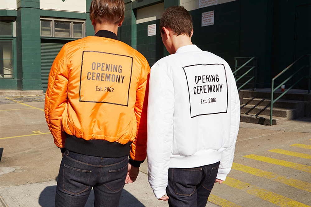 Opening Ceremony x Alpha Industries Classic MA-1 Bomber