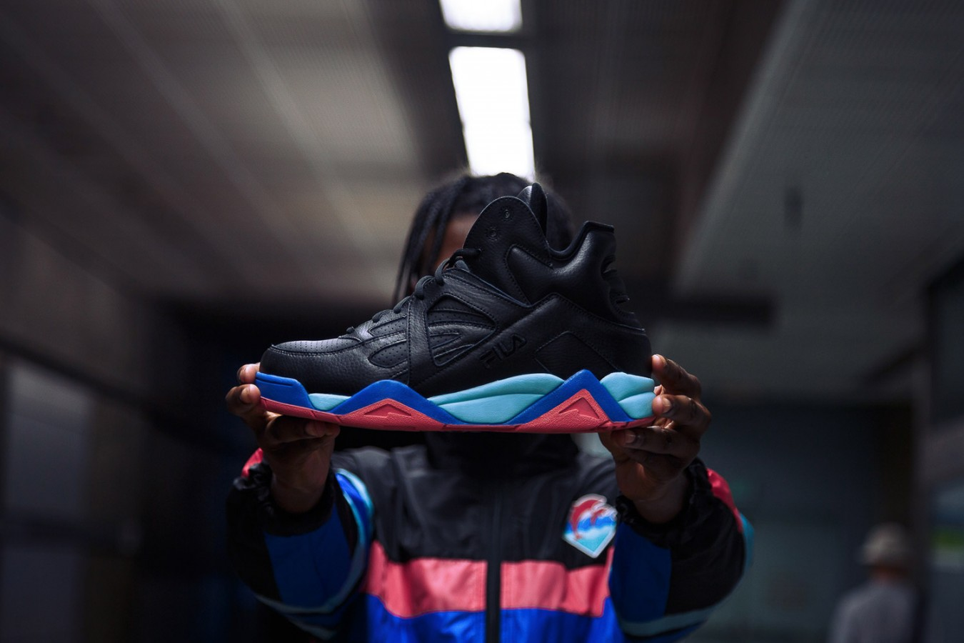 FILA Join Forces With Pink Dolphin On New 'Cage' Sneaker