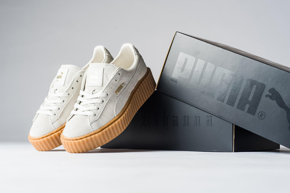 The PUMA x Rihanna Collaboration See's Two New Colourways Join The Collection