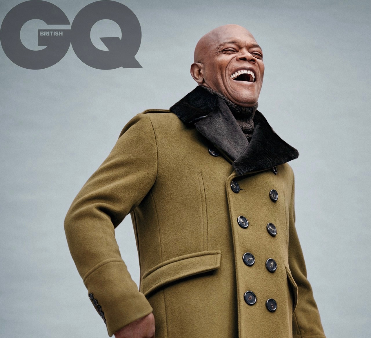 Samuel L. Jackson for British GQ