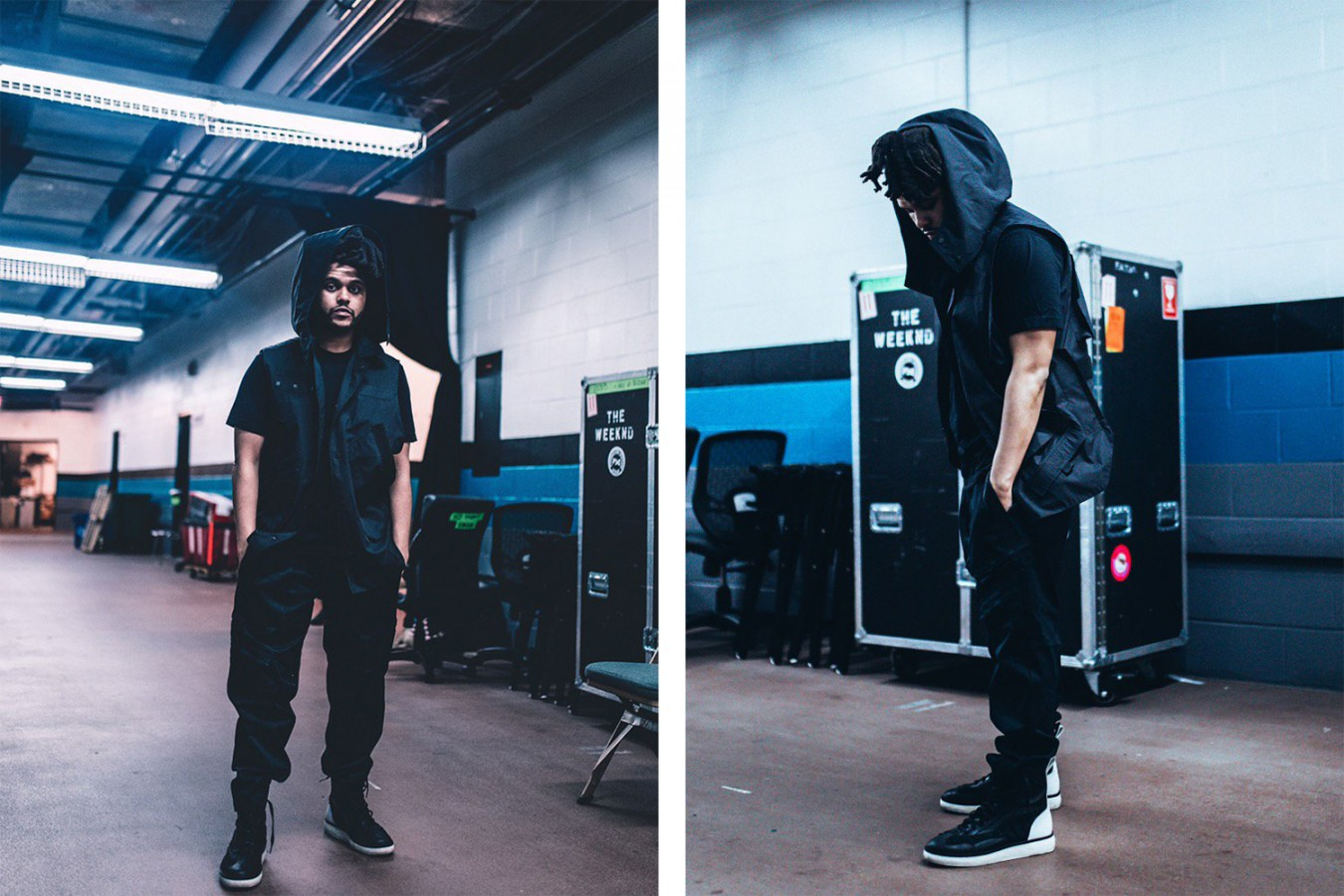 A First Look At The Weeknd x Alexander Wang Collaboration