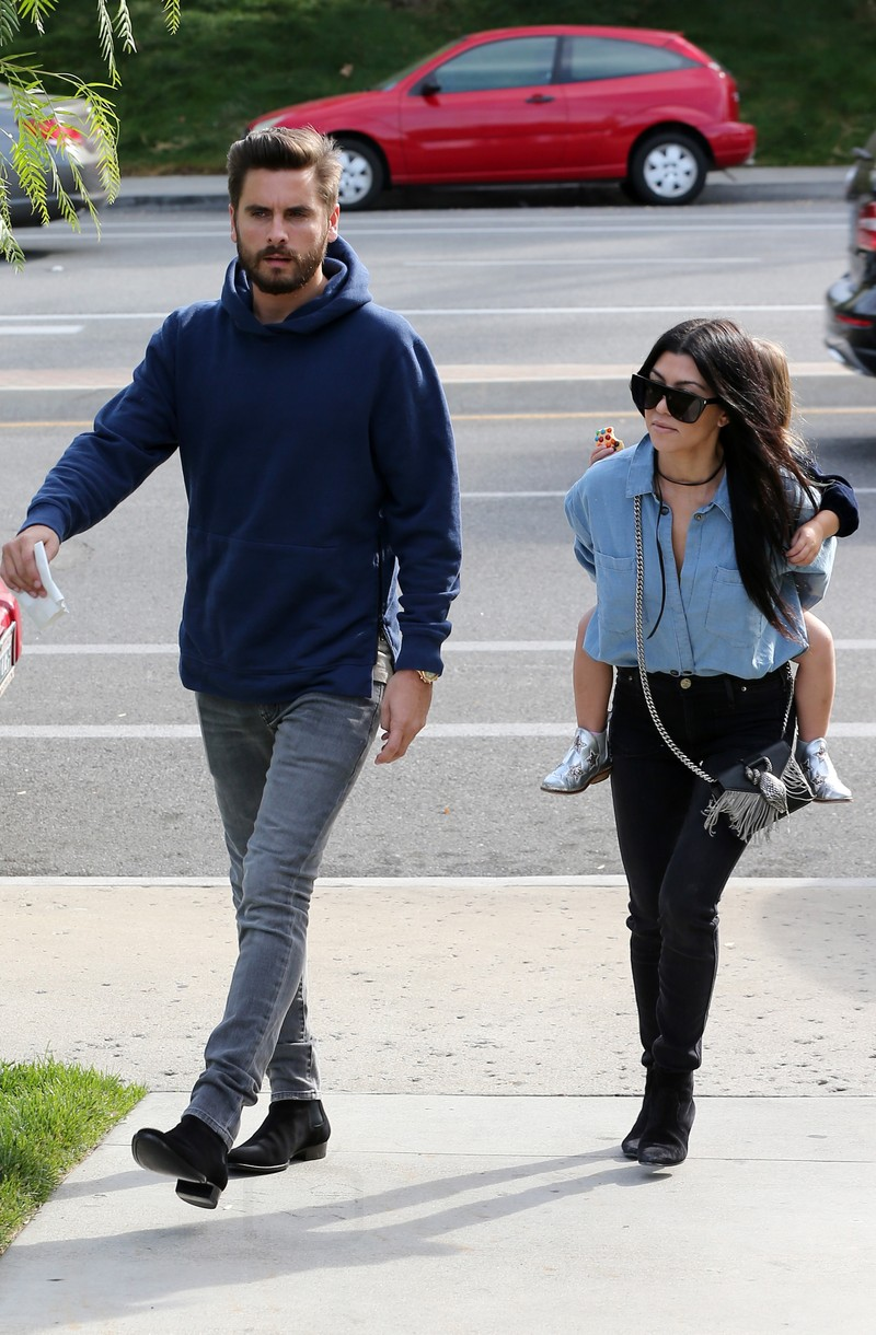 Spotted: Scott Disick wears John Elliott Hoodie, Saint Laurent Jeans, Boots and Audemars Piguet Watch