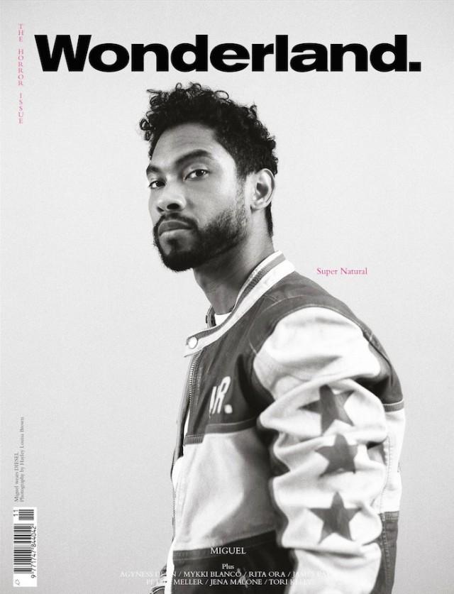 Miguel Covers Wonderland Magazine