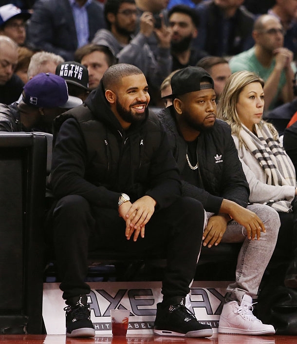 Spotted: Drake in Eminem x Carhartt x Air Jordan IV