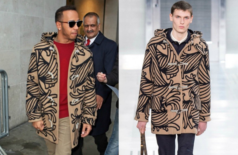 Spotted: Lewis Hamilton in Louis Vuitton
