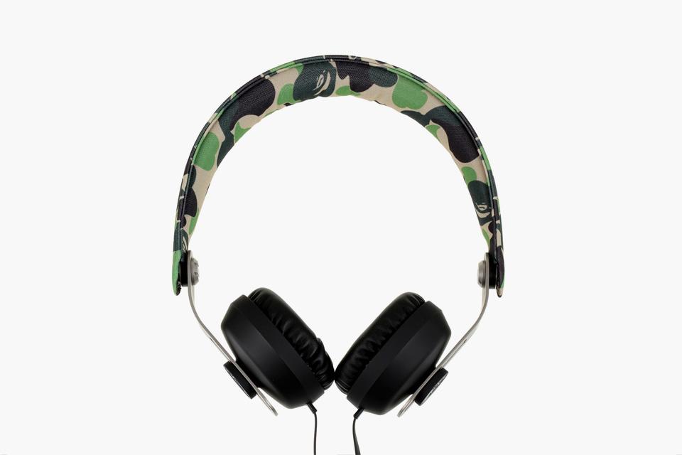 BAPE x EOps Camo Headphones