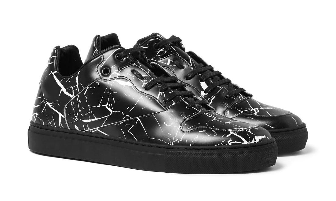 Balenciaga Drop Their Marble-Print Leather Sneaker For 2016