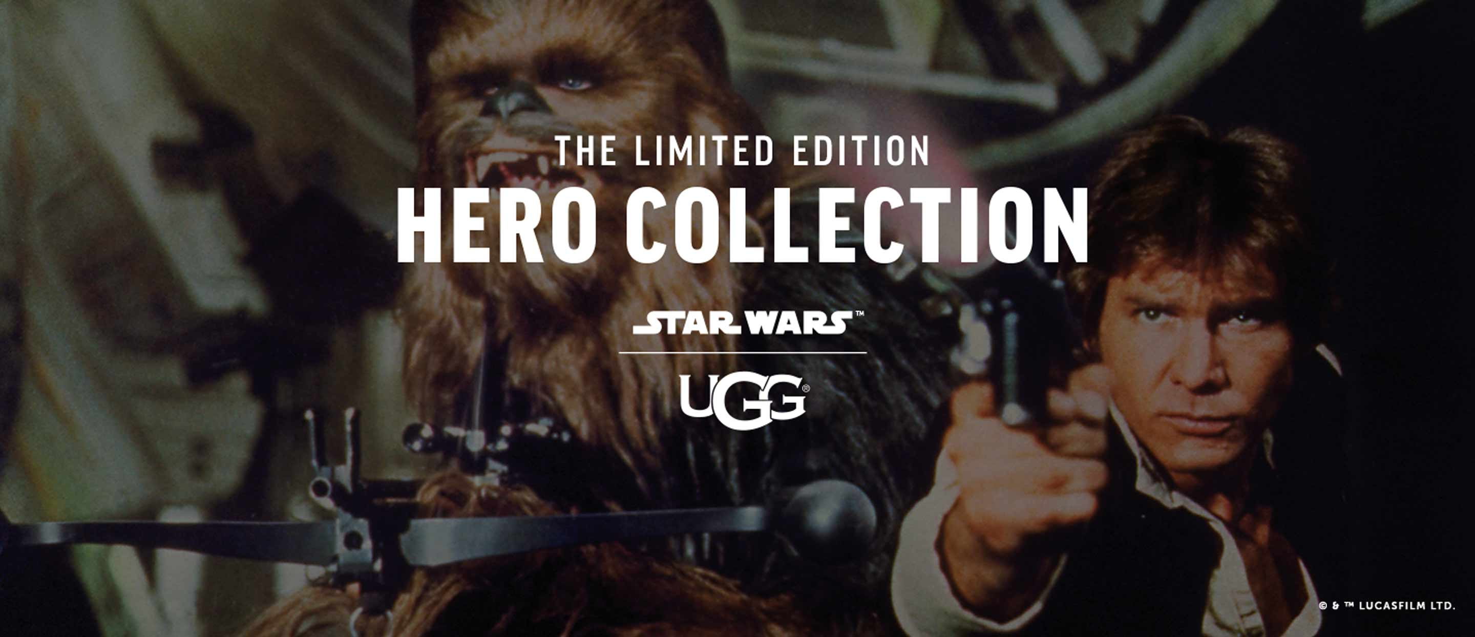 UGGS drop their Star Wars Inspired Collection