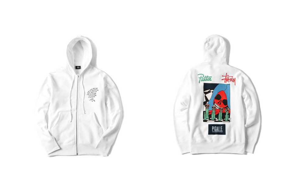 Stüssy x Patta x Pigalle Winter 2015 Collection