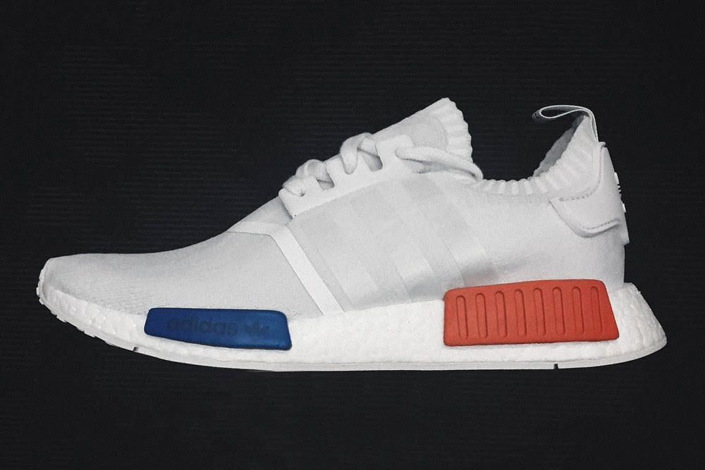 Insight into the all-white adidas Originals NMD