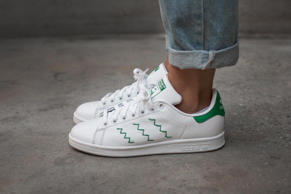 Adidas Originals x Stan Smith 'Zig-Zag' Sneaker Drop