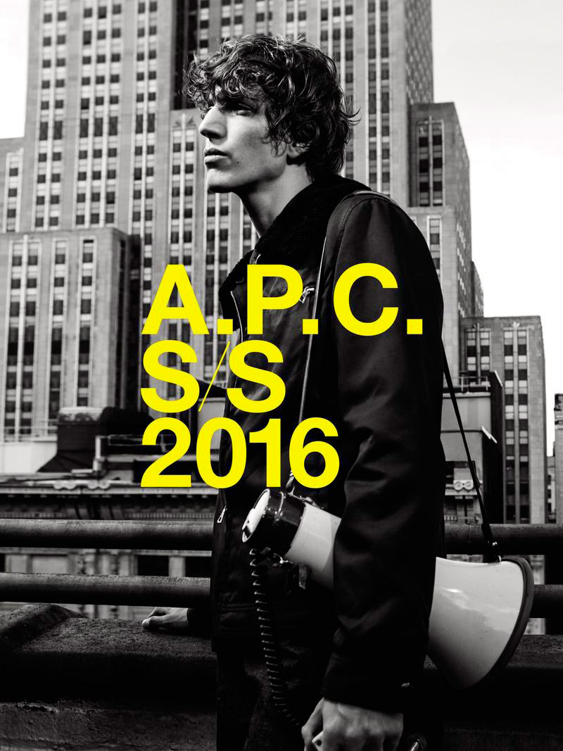 A.P.C. Spring/Summer 2016 Campaign