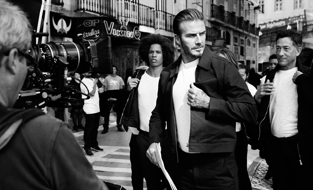 H&M Launches David Beckham's Modern Essentials