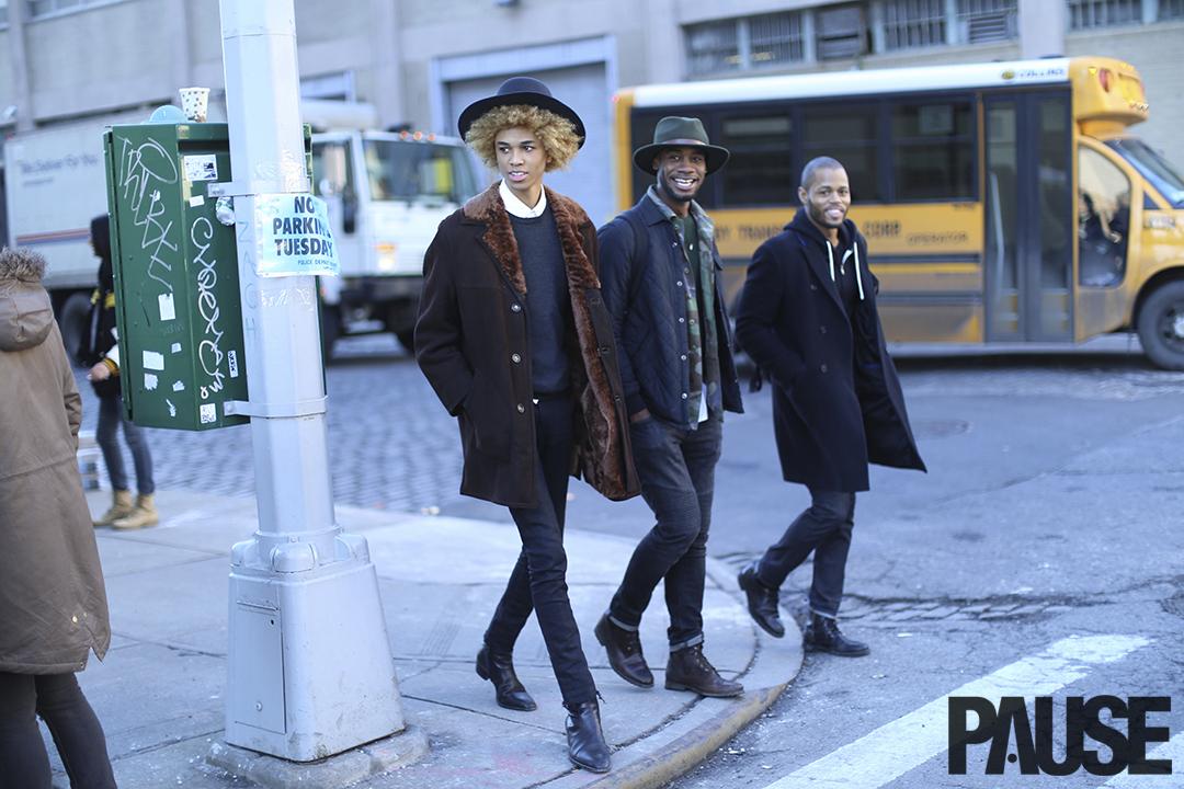 Street Style Shots: New York Fashion Week Men's Day 2