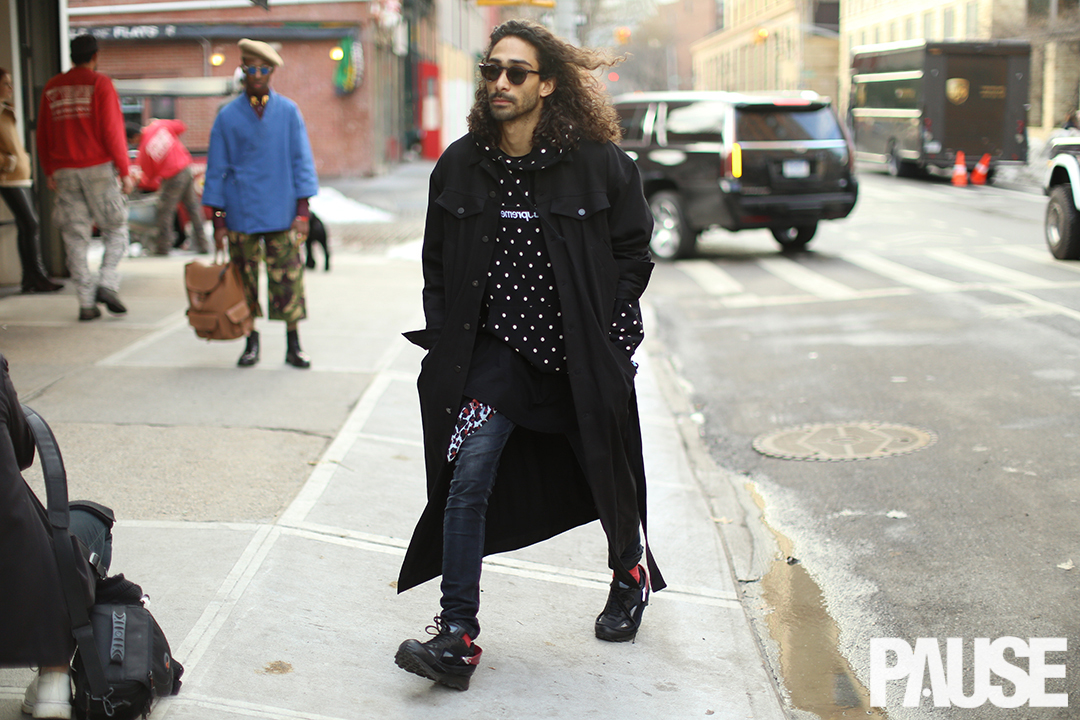 Street Style Shots: New York Fashion Week Men's Day 1